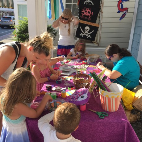 Arts and Crafts on the Porch!